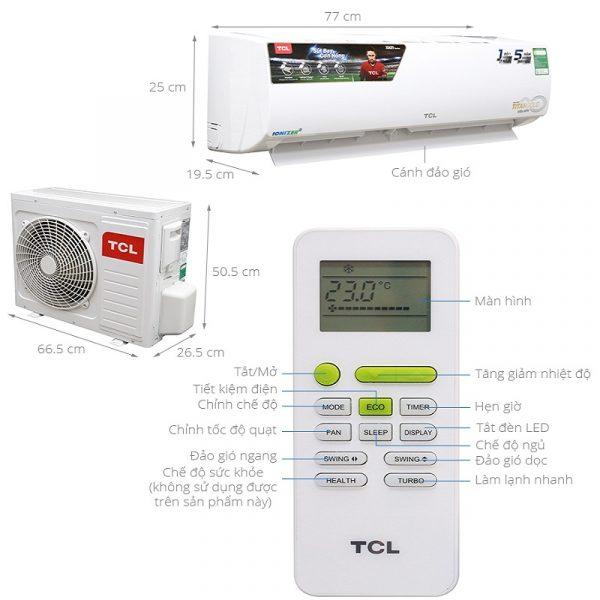 Sửa điều hòa TCL