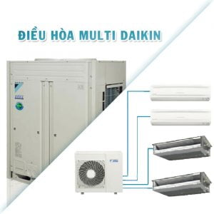 Nạp gas điều hòa Multi Daikin