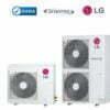 Nạp gas điều hòa Multi LG