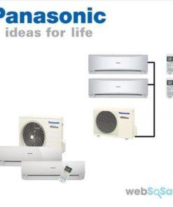 Nạp gas điều hòa Multi Panasonic