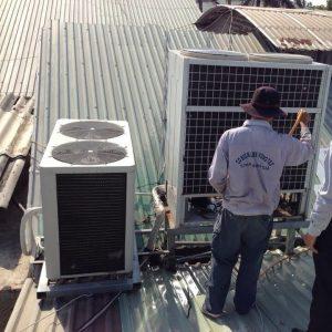 Thợ lắp đặt máy lạnh tại Bà Rịa