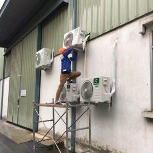 Lắp đặt máy lạnh tại Long Xuyên