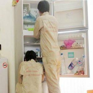 Vệ sinh tủ lạnh tại Long Xuyên An Giang