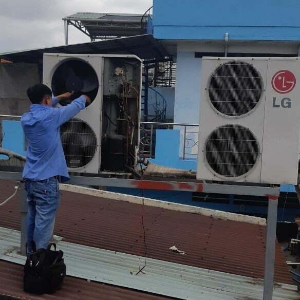 Sửa Máy Lạnh Tại Nhà Dĩ An